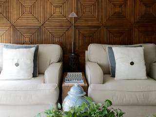 sala de estar/tv e jantar por arquitetaspe Moderno