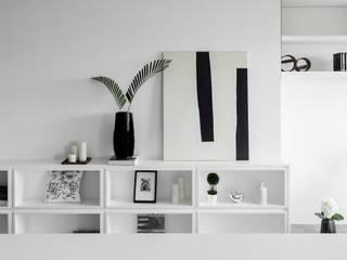 開放展示櫃:  藝術品 by 存果空間設計有限公司