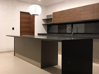 Kitchen by AParquitectos, Modern
