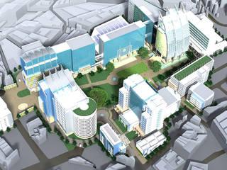 มหาวิทยาลัยหอการค้าไทย: ทันสมัย  โดย 3D ARCHITECT CO., LTD., โมเดิร์น