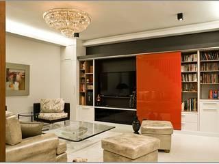 E&U 書房/辦公室食具櫃 玻璃 Red