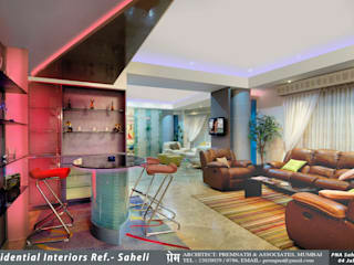 Residential Interiors,Mumbai by Prem Nath And Associates