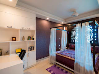 Salarpuria - Apartment Interiors Modern style bedroom by Vivek Shankar Architects Modern