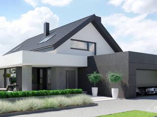 HomeKONCEPT | Projekty Domów Nowoczesnych의  주택
