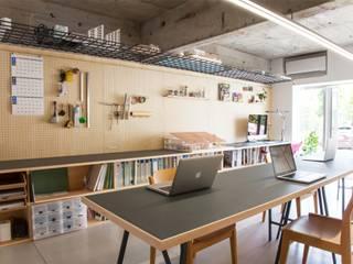 武蔵新城のオフィス: ピークスタジオ一級建築士事務所が手掛けたオフィススペース&店です。