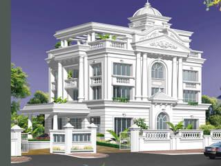 Villa at Hyderabad:   by Prem Nath And Associates