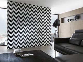 Coleccion de papel pintado High Rise: Paredes y suelos de estilo moderno de Disbar Papeles Pintados