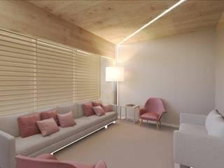 MIA arquitetos Cliniche in stile minimalista Legno Beige