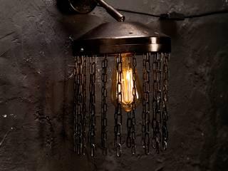 индустриальный светильник от Bronus craft Лофт