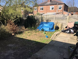 The Garden Before the transformation.:   by Garden Ninja Ltd