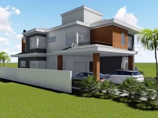 Residência MM: Casas  por Miño & Schwanke Arquitetura