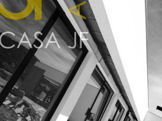 Casa JF: Casas de campo  por Sandra Ferreira, Arquitetura,Moderno