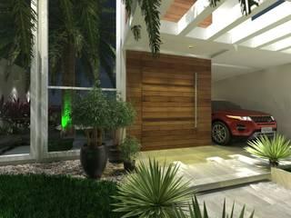 منازل التراس تنفيذ Bloco Arquitetura e Engenharia