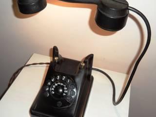 Светильник из старинного телефона:  в . Автор – Bronus craft