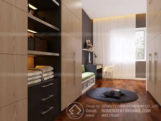 Biệt thự AD0619 Phòng học/văn phòng phong cách hiện đại bởi HOMEWAY Hiện đại