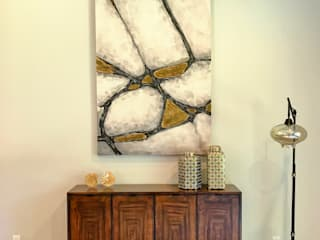 Tenneyson Decor Salones modernos de Erika Winters Design Moderno
