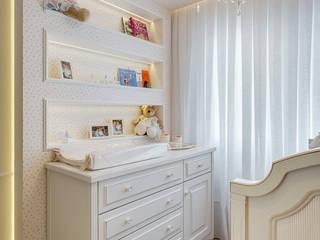 Quarto de Bebê_Apto RP Quarto infantil minimalista por Carolina Kist Arquitetura & Design Minimalista