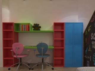 RECAMARA DE NIÑOS: Recámaras para niños de estilo  por planeacion y proyectos constructivos s.a de c.v.