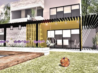 Single family home by GORA Arquitectura 3D,