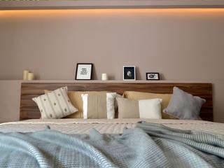 SIMPLE actitud Phòng ngủ phong cách công nghiệp Gỗ thiết kế Amber/Gold