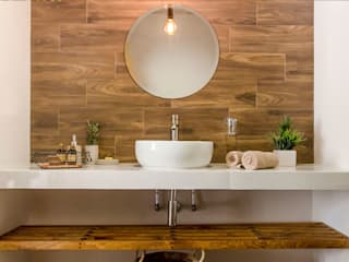 SIMPLE actitud Salle de bainDécorations Céramique Marron