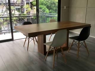 Mesa de Comedor Nogal de Segusino Muebles Condesa Moderno