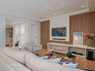 Apto NN_ 120m² Salas de estar modernas por Carolina Kist Arquitetura & Design Moderno