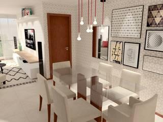 Apartamento 207 Salas de jantar escandinavas por Collevatti Arquitetura Escandinavo