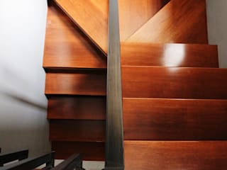 Modern Corridor, Hallway and Staircase by The GoodWood Interior Design Modern