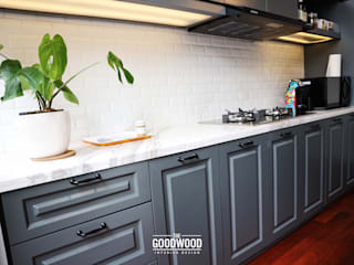 Kitchen by The GoodWood Interior Design, Modern