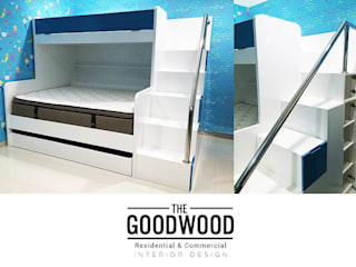Kiddos Bunk Bed The GoodWood Interior Design Kamar Tidur Modern