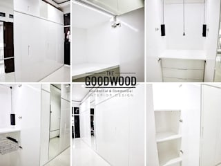White Minimalist Wardrobe The GoodWood Interior Design Ruang Ganti Minimalis White