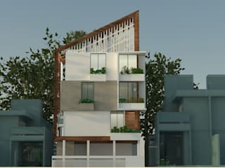 3 Floor Residential Apartments by monolith projects