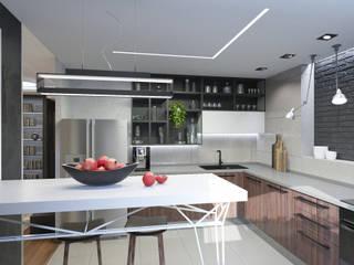 Dapur Gaya Industrial Oleh MIODESIGN Industrial