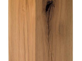 Holzklotz Eiche Massivholz 25x25x50 cm:   von Möbelmanufaktur GreenHaus