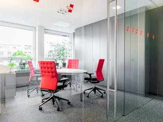 Modern office buildings by Ohlde Interior Design Modern