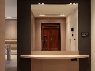 Dom we Wrocławiu: styl , w kategorii Salon zaprojektowany przez  dr Jacek Krzysztof Żurek Autorska Pracownia Projektowa