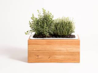 Kräuterbox aus Eiche Massivholz:   von Möbelmanufaktur GreenHaus