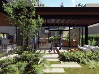 Residência KC:   por Otta Albernaz Arquitetura