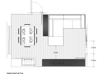 A11 - Remodelação de Sala: Salas de estar  por JOSÉ CASTRO SILVA | Arquitectos,Moderno