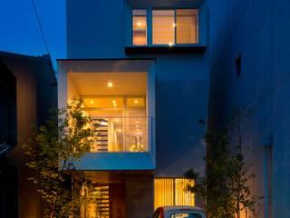 Casas unifamilares de estilo  de 今井賢悟建築設計工房, Moderno