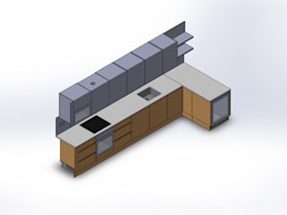 Design Automation for Metal & Wood Furniture : modern  by TrueCADD,Modern