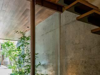 ツボ庭: 今井賢悟建築設計工房が手掛けた廊下 & 玄関です。,