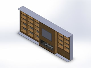 Design Automation for Metal & Wood Cabinet:   by TrueCADD