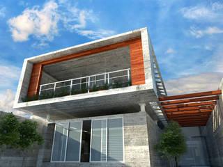 Casa A-1: Casas de estilo  por ALKAR arquitectos
