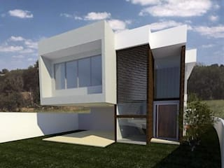 Casa WL - Jardins Nápoles:   por Julio de Faria - Arquiteto e Urbanista