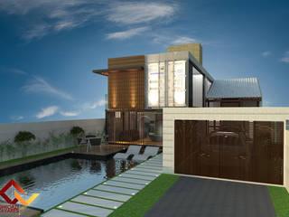 Prefabricated home by GhiorziTavares Arquitetura, Minimalist