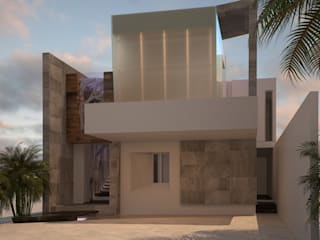 Houses by A-labastrum   arquitectos, Modern