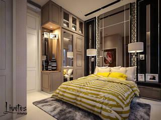 Mrs. Lenny Private Residential PT Kreasi Cemerlang Abadi Kamar Tidur Modern Kayu Brown