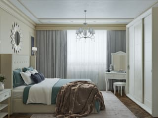 Classic style bedroom by Mantra_design Classic